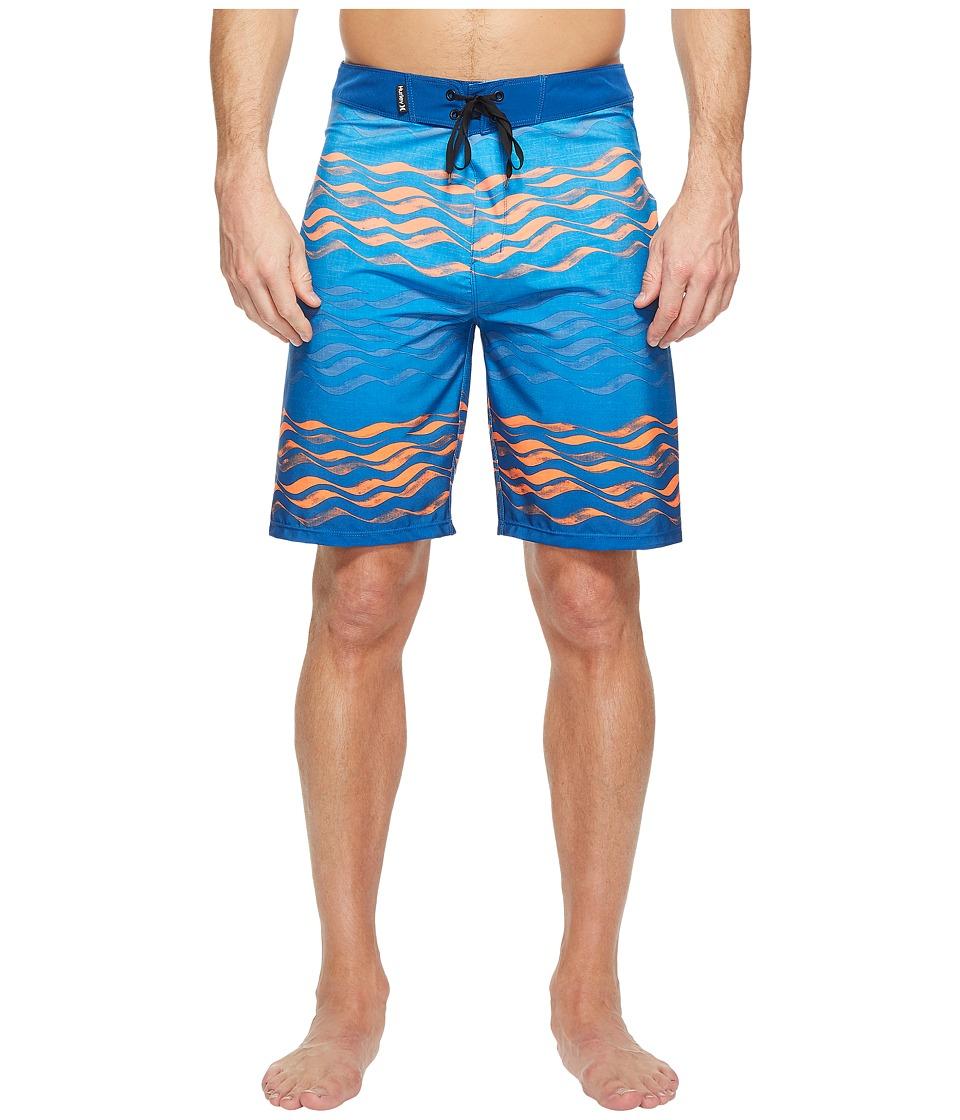 Hurley Phantom Currents 20 Boardshorts (Gym Blue) Men