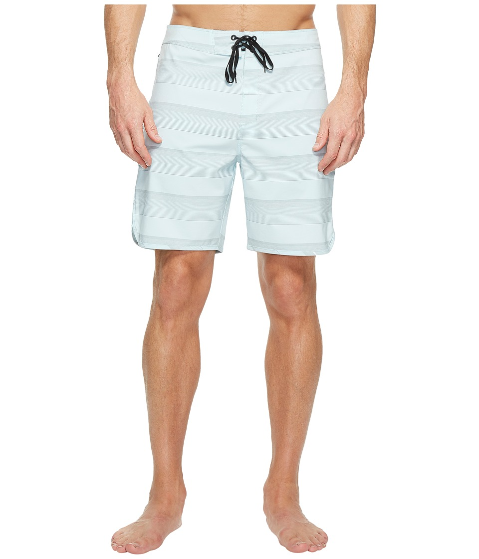Hurley - Phantom Strike 19 Boardshorts (Glacier Blue) Men's Swimwear