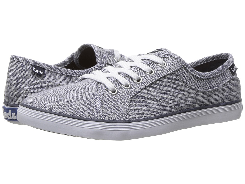 Keds - Coursa Heathered Textile (Navy) Women's Shoes