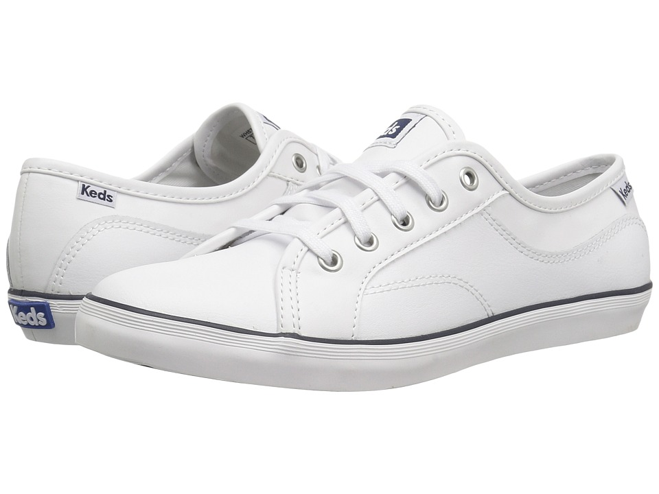 Keds Coursa Leather (White) Women