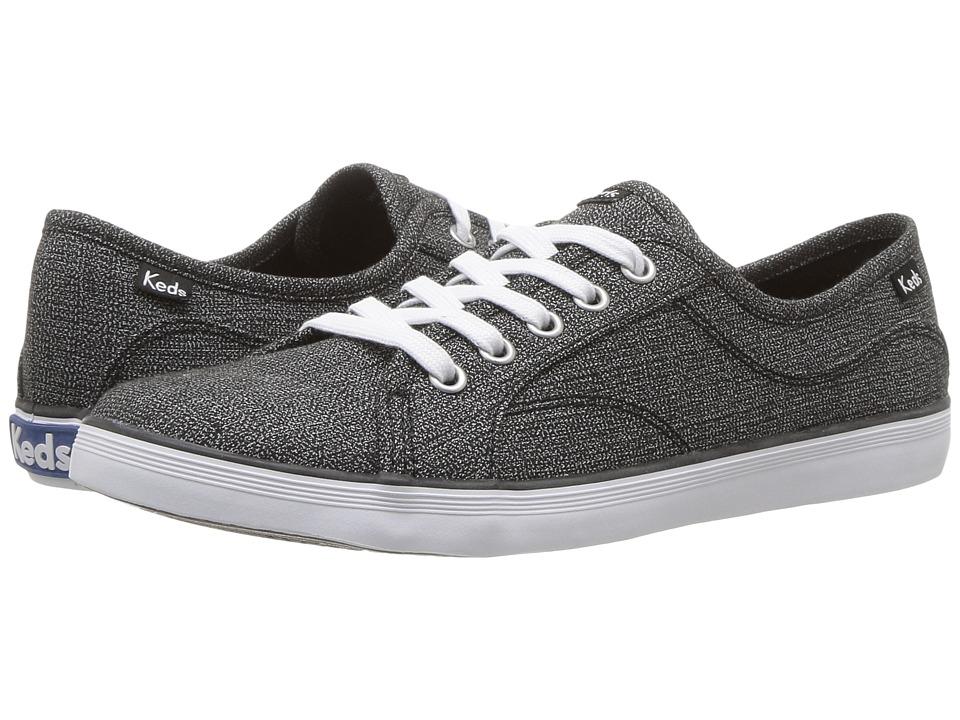 Keds - Coursa Heathered Textile (Black) Women's Shoes