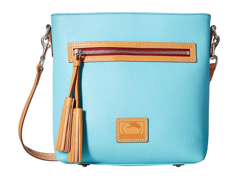 Dooney & Bourke - Patterson Lani Crossbody (Calypso w/ Butterscotch Trim) Cross Body Handbags