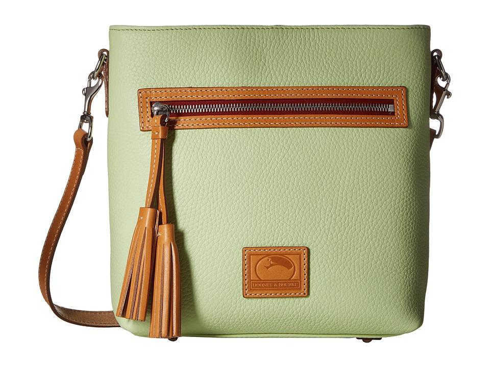 Dooney & Bourke - Patterson Lani Crossbody (Key Lime w/ Butterscotch Trim) Cross Body Handbags