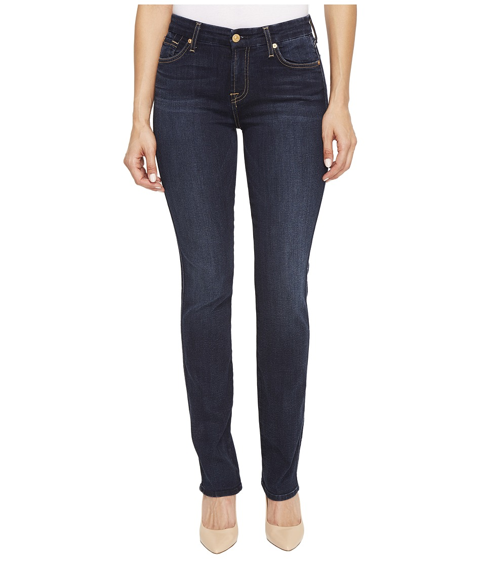 7 For All Mankind - Kimmie Straight in Dark Moonlight Bay (Dark Moonlight Bay) Women's Jeans