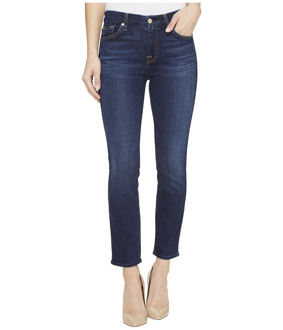 7 For All Mankind - Kimmie Crop in Santiago Canyon (Santiago Canyon) Women's Capri