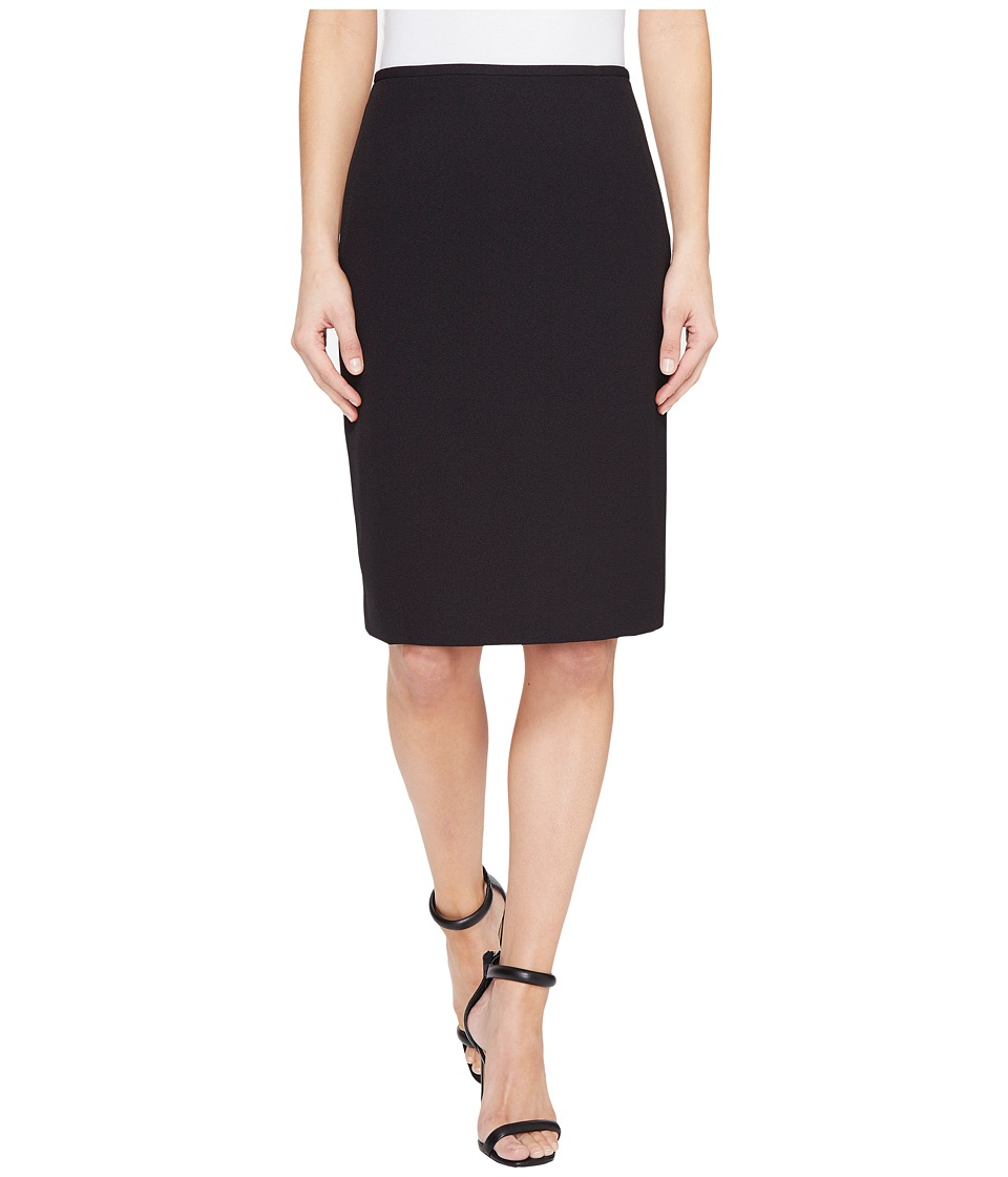 Tahari by ASL - Crepe Pencil Skirt (Black) Women's Skirt