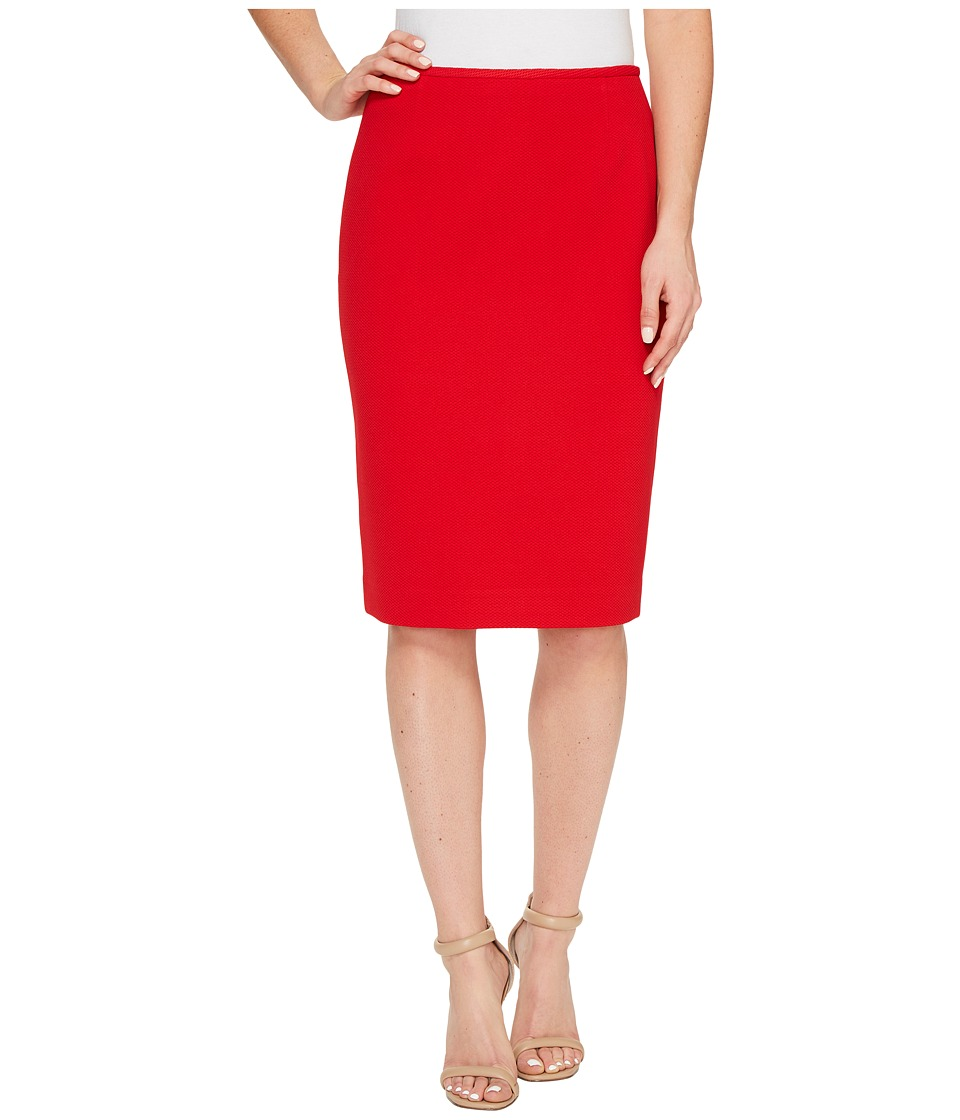 Tahari by ASL - Novelty Pencil Skirt (Tom's Red) Women's Skirt