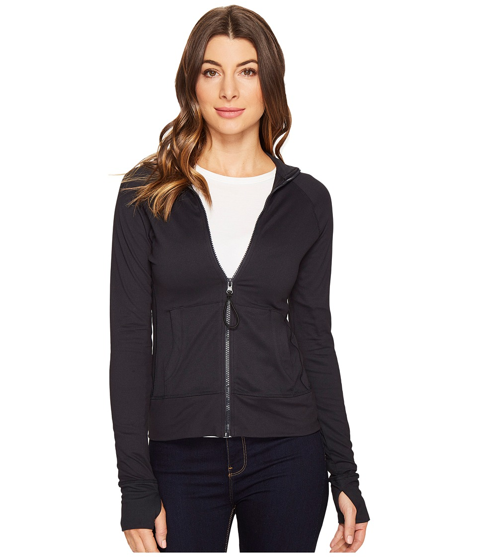 Threads 4 Thought - Lori Zip-Up (Jet Black) Women's Sweatshirt