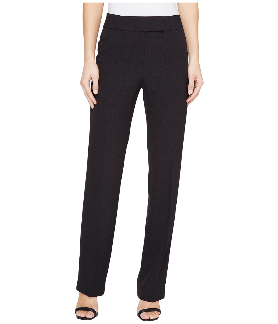 Tahari by ASL - Crepe Pants (Black) Women's Casual Pants