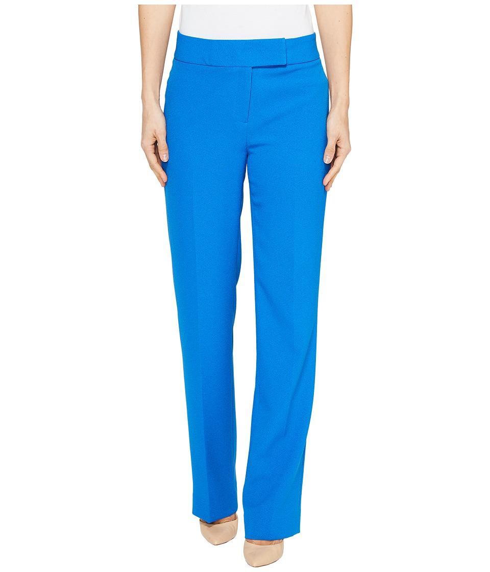 Tahari by ASL - Crepe Pants (Lagoon Blue) Women's Casual Pants