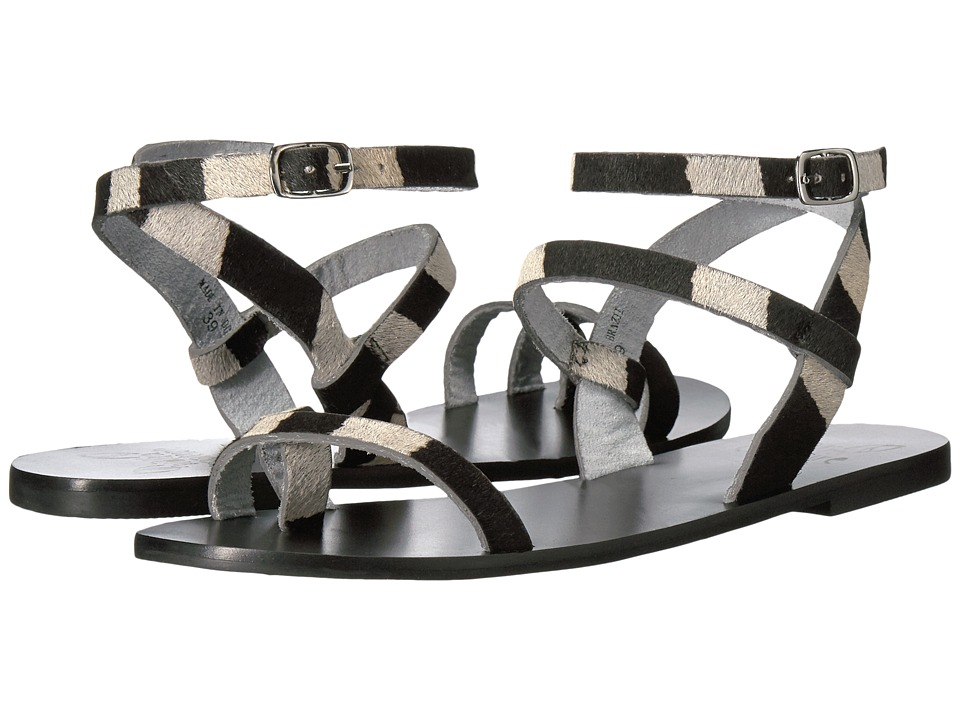 Warm Creature - Esme (Black/White) Women's Sandals
