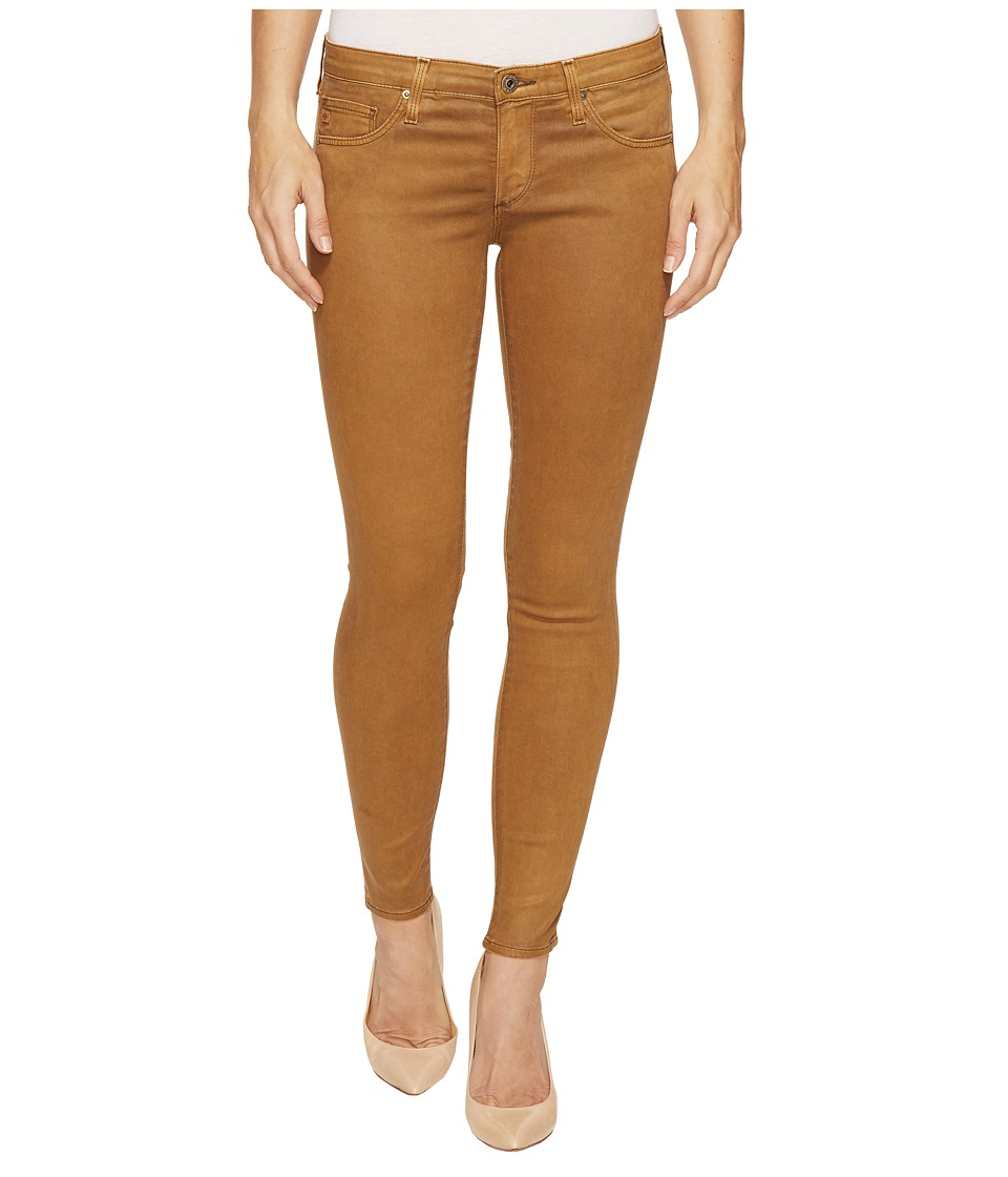 AG Adriano Goldschmied Leggings Ankle Skinny in Vintage Hazelnut (Vintage Hazelnut) Women