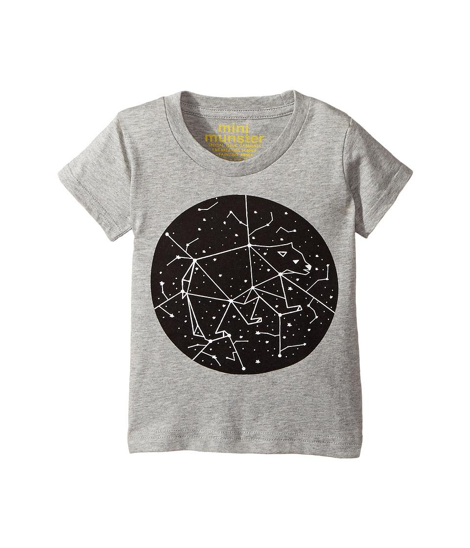 Munster Kids - Moon Tee (Infant/Toddler) (Grey Marle) Boy's T Shirt