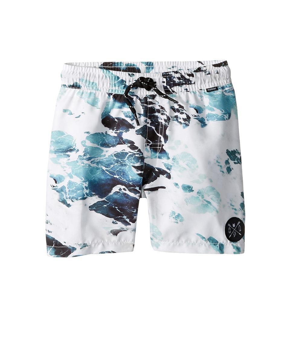Munster Kids - Rips Boardshorts (Toddler/Little Kids/Big Kids) (Ocean) Boy's Swimwear