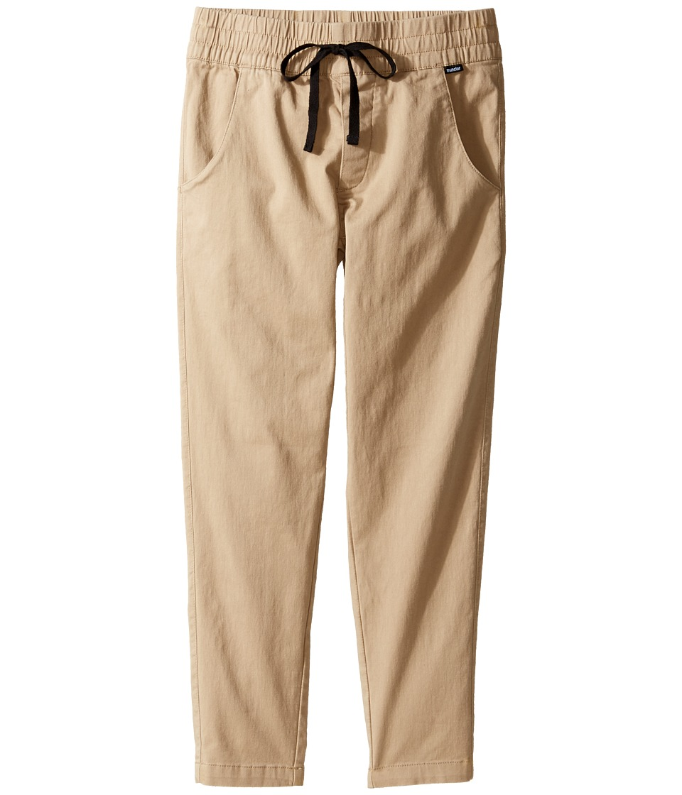 Munster Kids - Super Tubes Pants (Toddler/Little Kids/Big Kids) (Khaki) Boy's Casual Pants