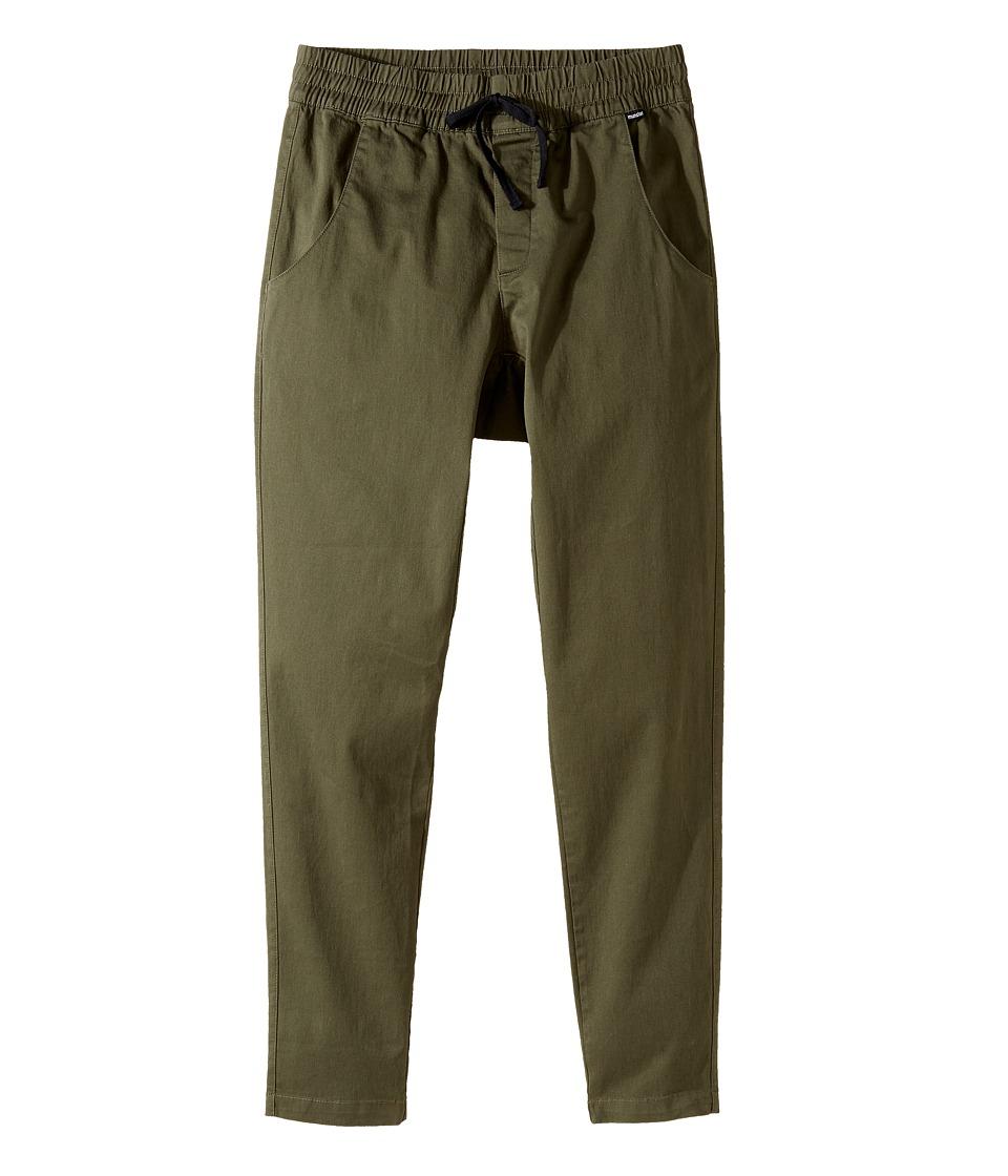 Munster Kids - Super Tubes Pants (Toddler/Little Kids/Big Kids) (Olive) Boy's Casual Pants
