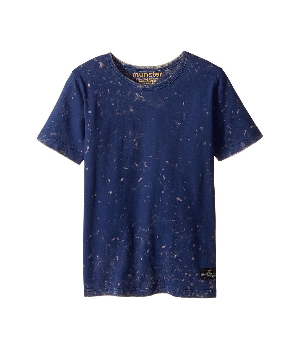 Munster Kids - Feaw Tee (Toddler/Little Kids/Big Kids) (Mineral Navy) Boy's T Shirt