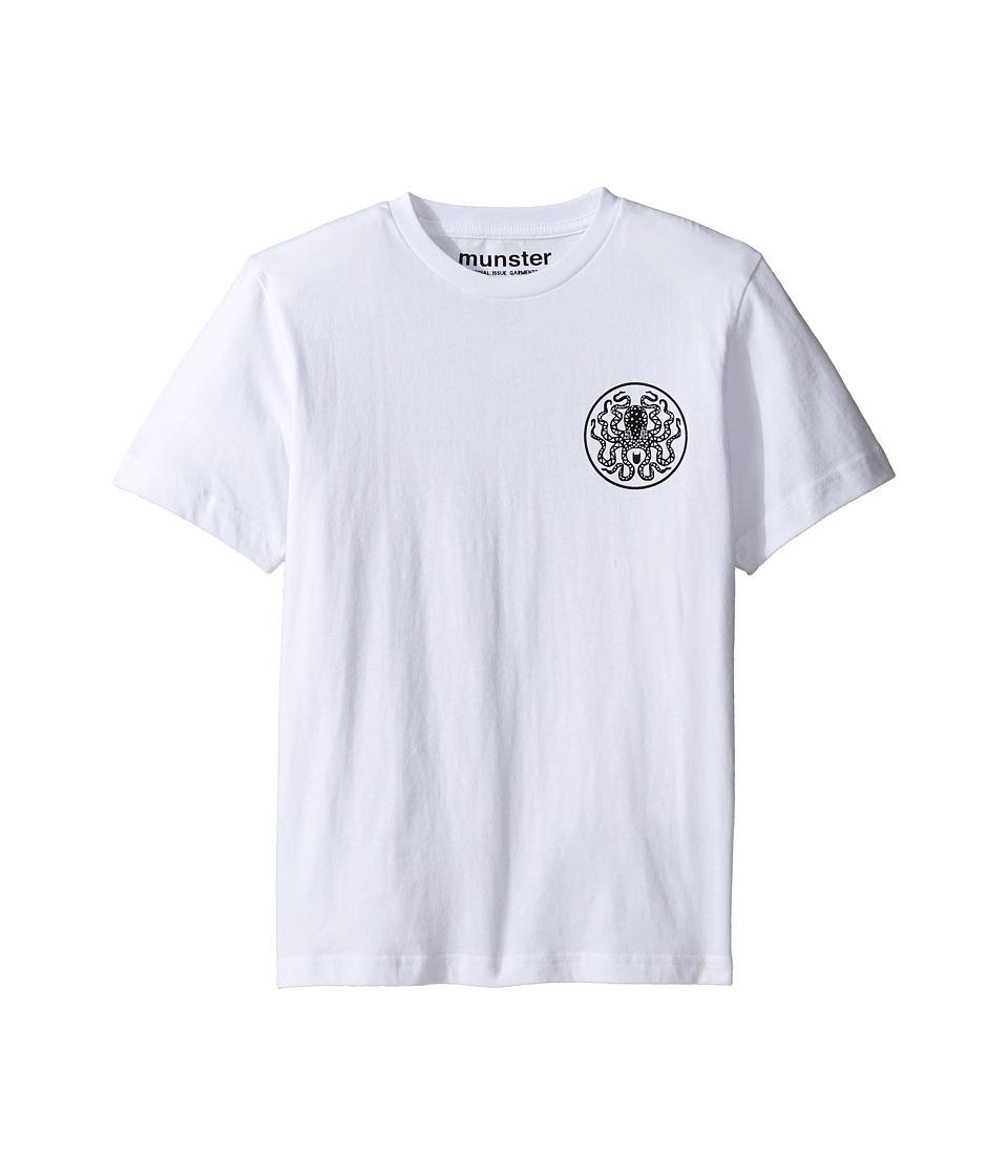 Munster Kids - Radical Tee (Toddler/Little Kids/Big Kids) (White) Boy's T Shirt