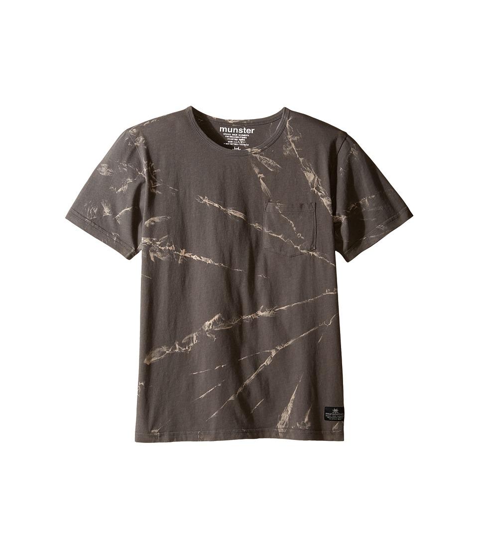 Munster Kids - Moulded Tee (Toddler/Little Kids/Big Kids) (Charcoal) Boy's T Shirt
