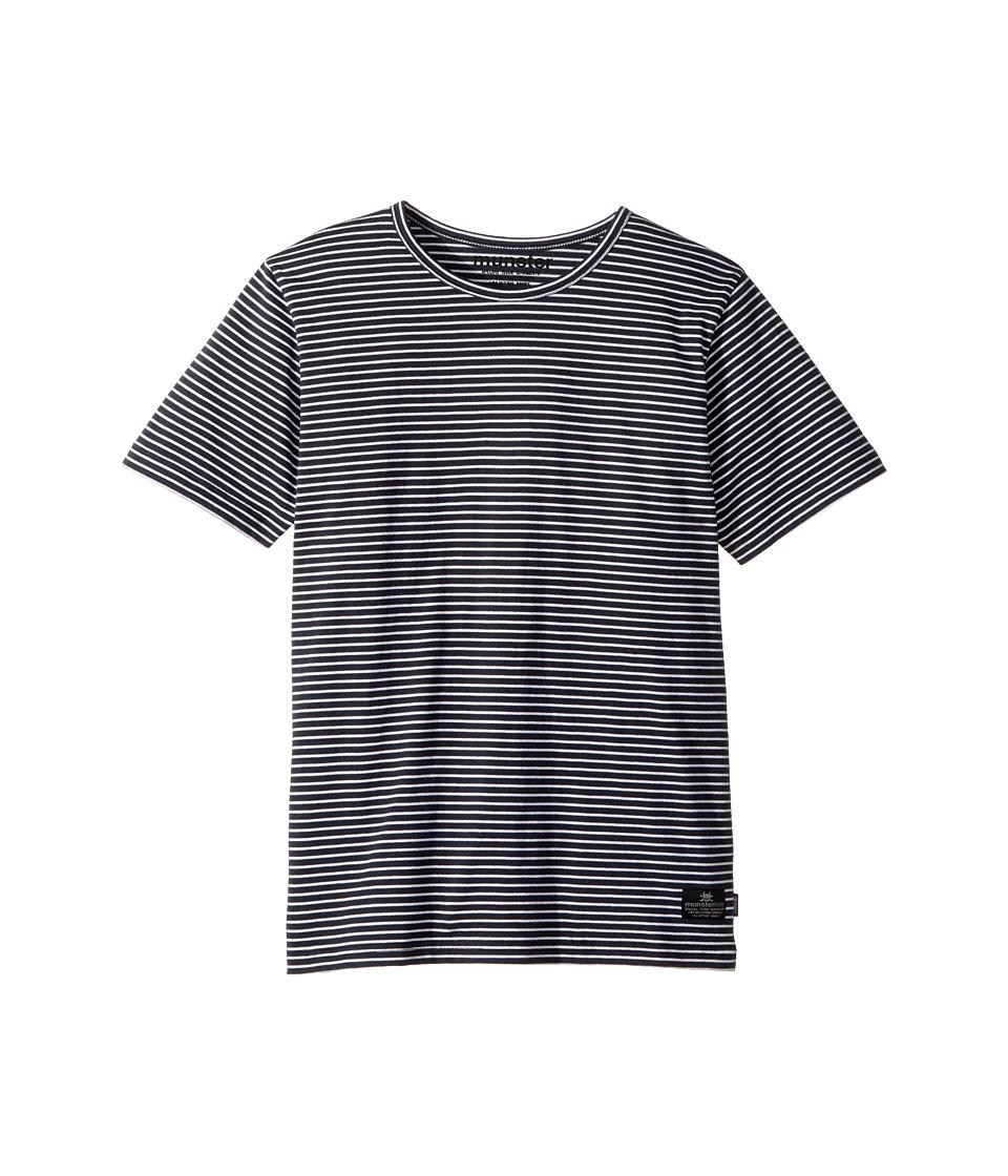 Munster Kids - Limits Tee (Toddler/Little Kids/Big Kids) (Soft Blackk/White Stripe) Boy's T Shirt