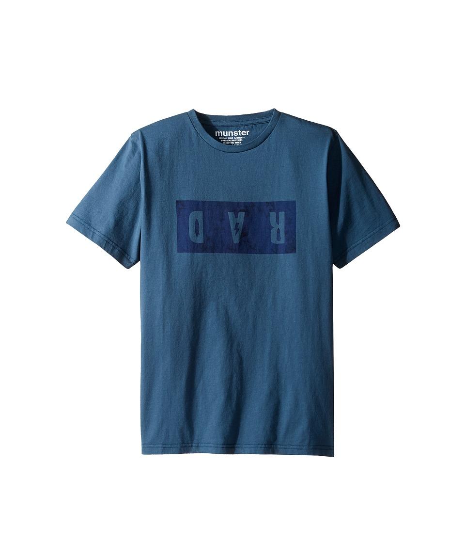 Munster Kids - Dar Tee (Toddler/Little Kids/Big Kids) (Blue) Boy's T Shirt