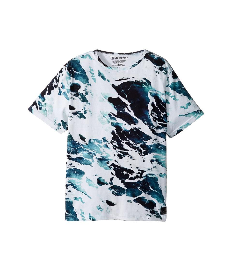 Munster Kids - Suds Tee (Toddler/Little Kids/Big Kids) (Ocean) Boy's T Shirt