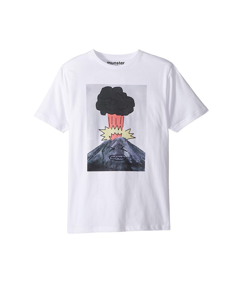 Munster Kids - Boom Tee (Toddler/Little Kids/Big Kids) (White) Boy's T Shirt