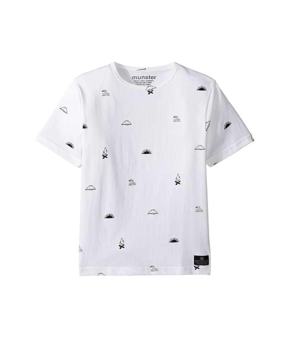 Munster Kids - One Tee (Toddler/Little Kids/Big Kids) (White) Boy's T Shirt