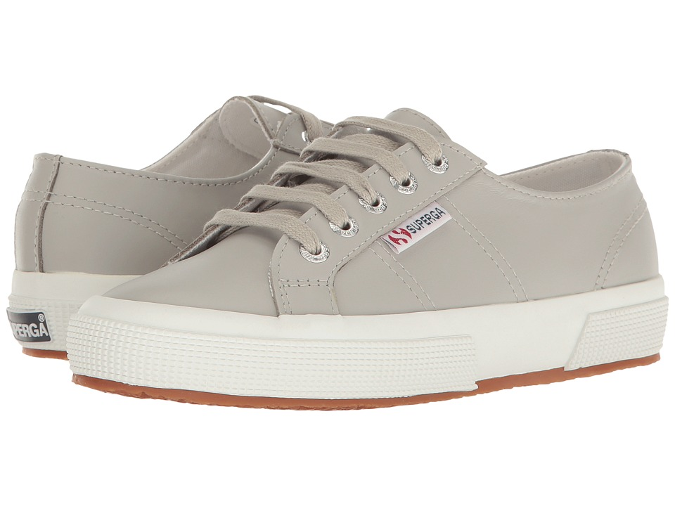 Superga - 2750 FGLU (Light Grey) Women's Lace up casual Shoes