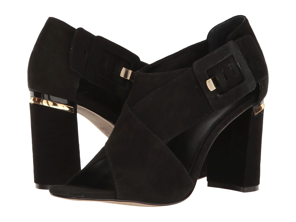 M4D3 - Beirut (Black Kid Suede) High Heels