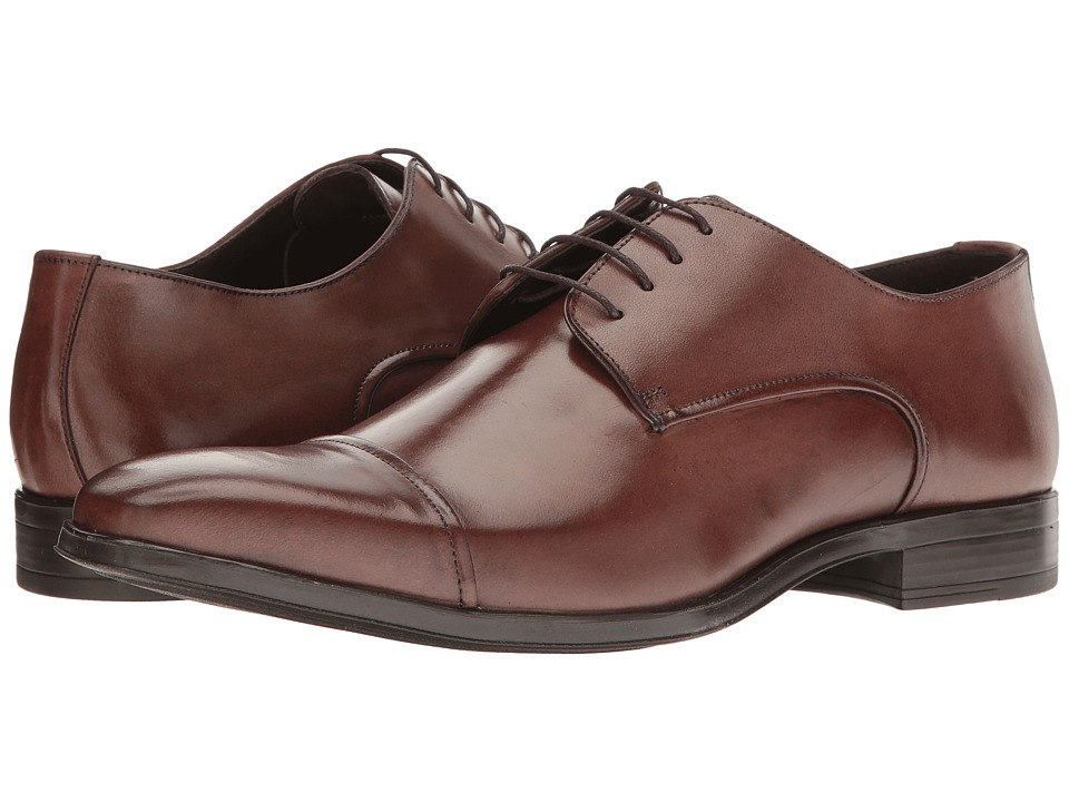 Massimo Matteo - Cap Toe 17 Classic (Mouro) Men's Lace Up Cap Toe Shoes