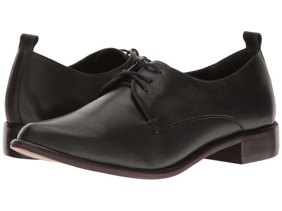 M4D3 - Osaka (Black Baby Calf Shine) Women's 1-2 inch heel Shoes