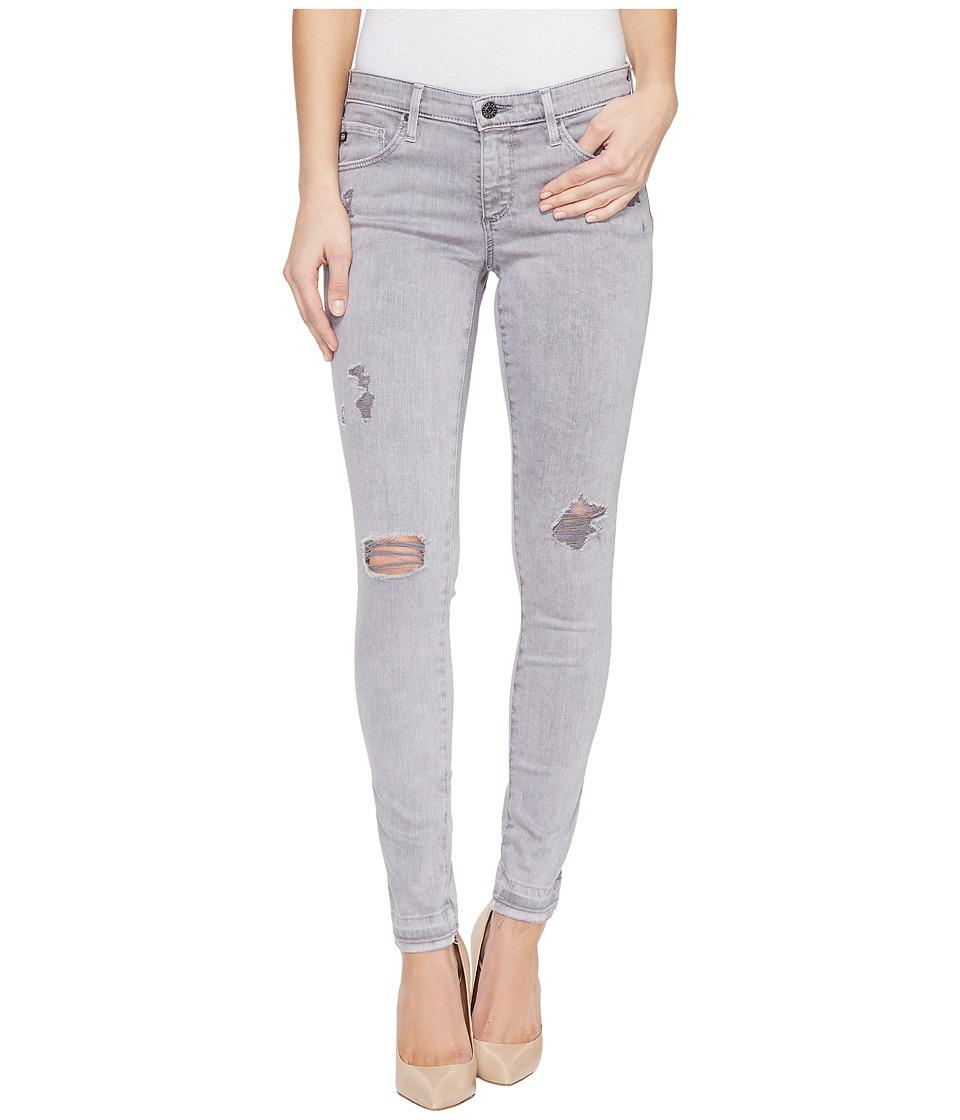 AG Adriano Goldschmied Leggings Ankle in Interstellar Worn Silver Ash (Interstellar Worn Silver Ash) Women