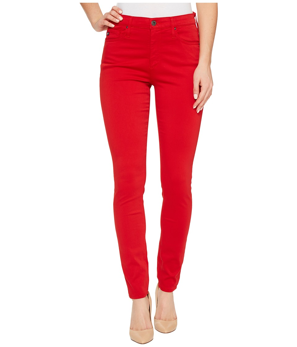 AG Adriano Goldschmied - Farrah Ankle Skinny in Parisian Red (Parisian Red) Women's Jeans