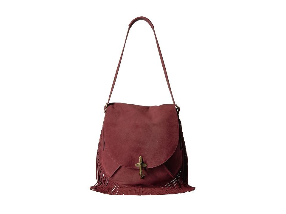 Lucky Brand - Maya Shoulder (Ruby Wine) Handbags