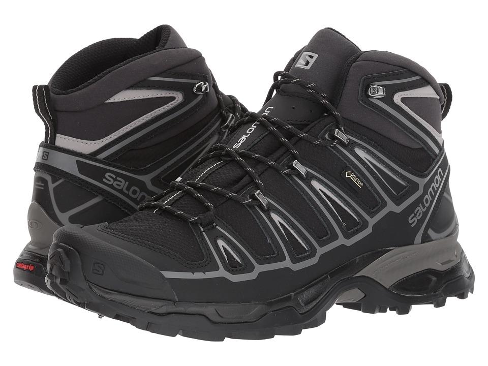 Salomon X Ultra Mid 2 Spikes GTX(r) (Black/Black/Aluminium