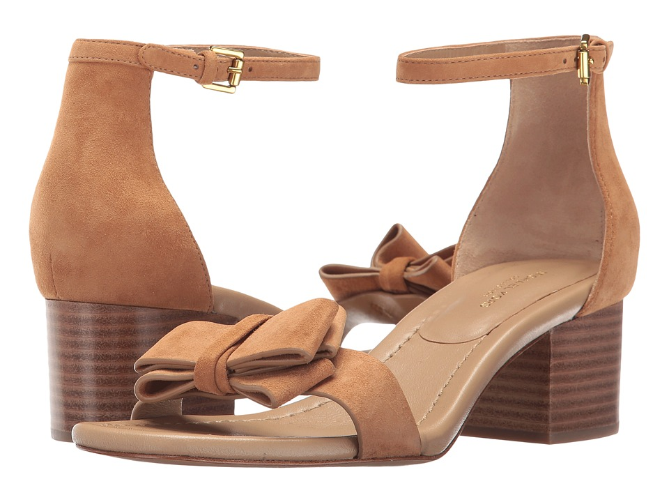 Michael Kors - Winnie (Cigar Kid Suede) Women's 1-2 inch heel Shoes