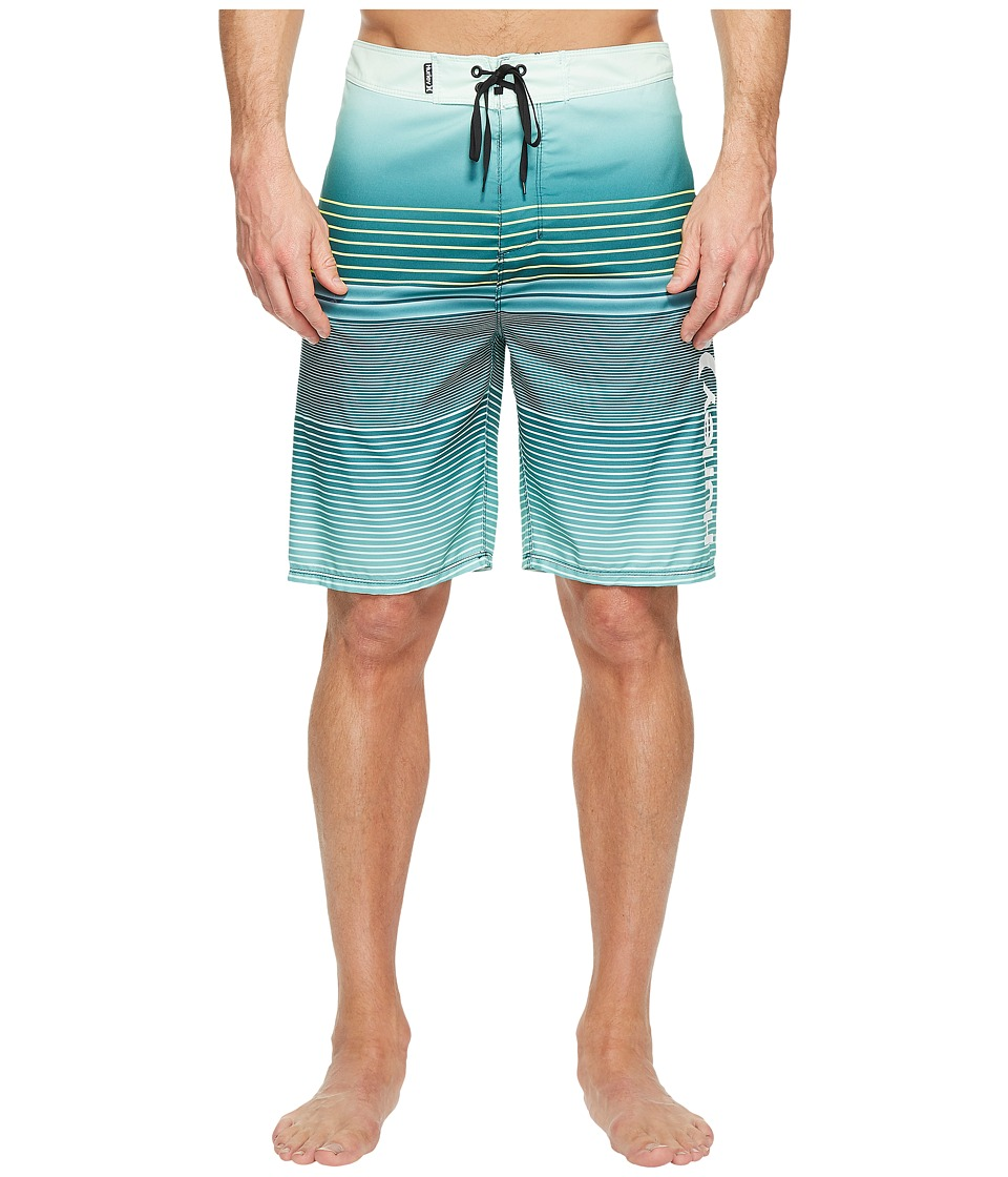 Hurley - Clash 21 Boardshorts (Dark Atomic Teal) Men's Swimwear