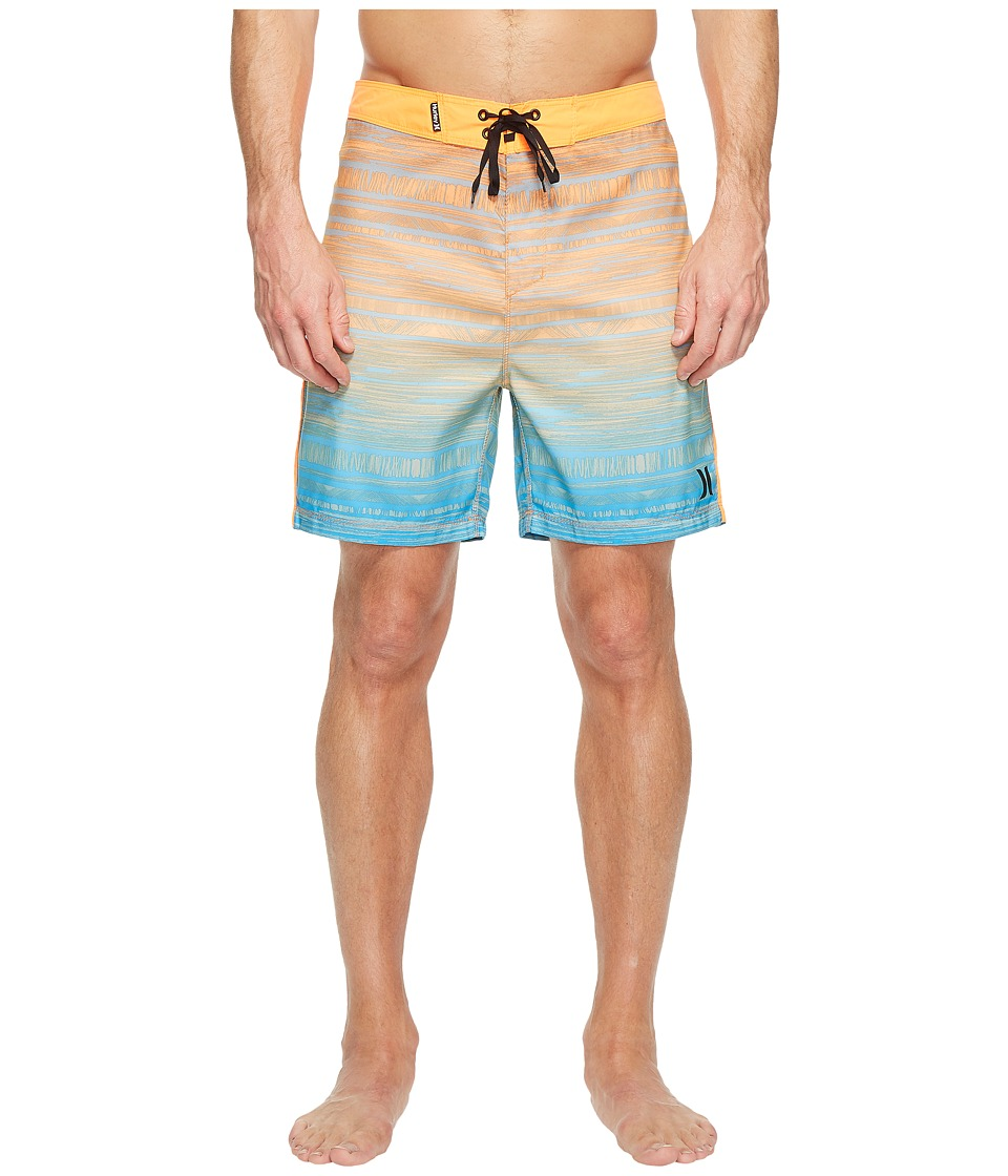 Hurley - Natividad 18 Boardshorts (Total Orange) Men's Swimwear