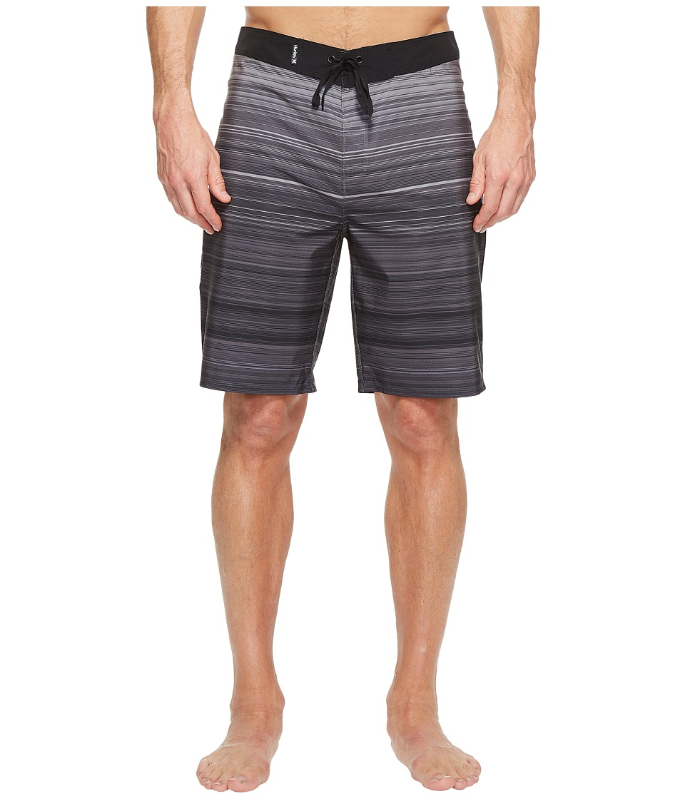 Hurley - Phantom Kingston 20 Boardshorts (Black) Men's Swimwear