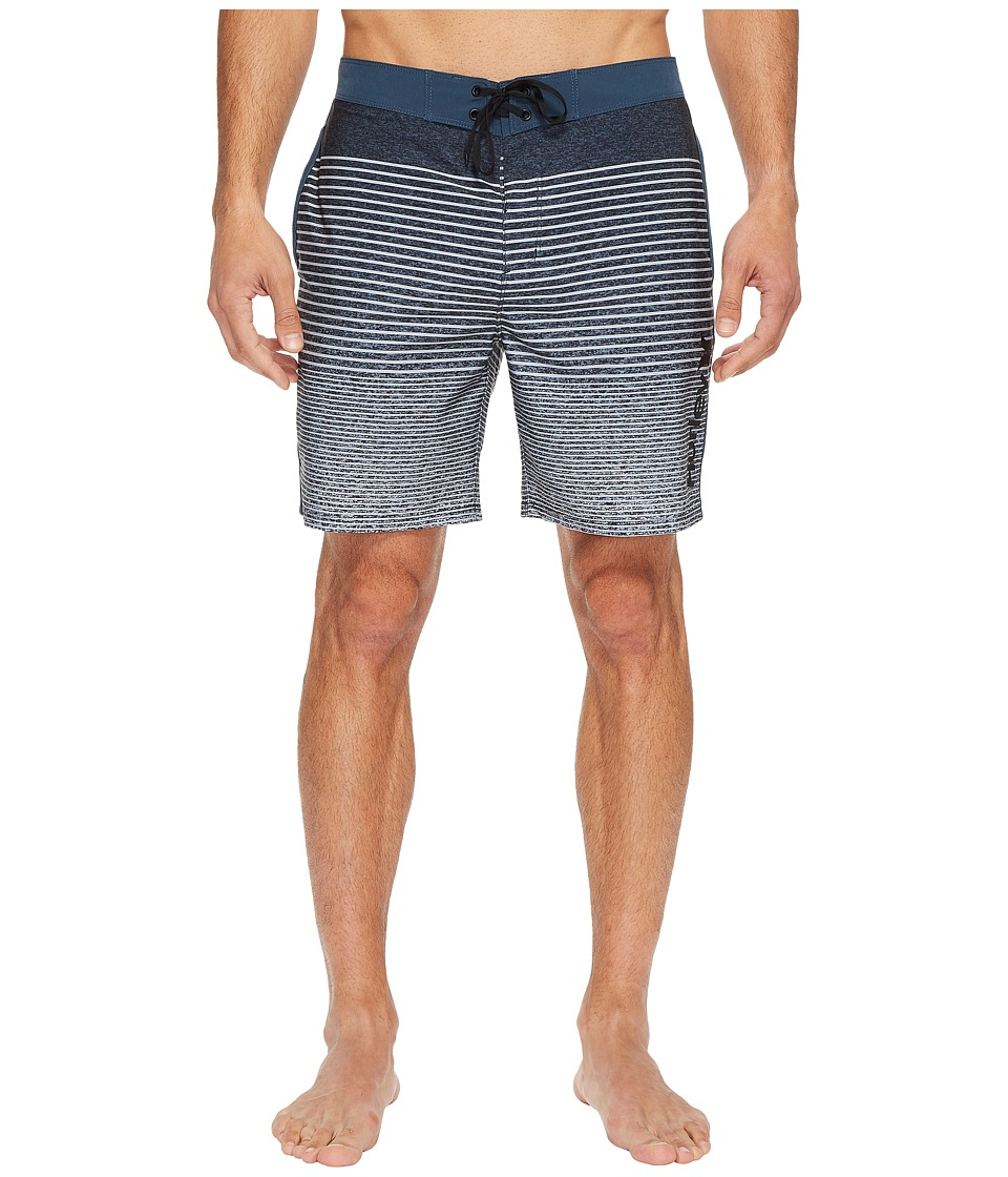 Hurley - Phantom Beachside Blender 18 Boardshorts (Squadron Blue) Men's Swimwear