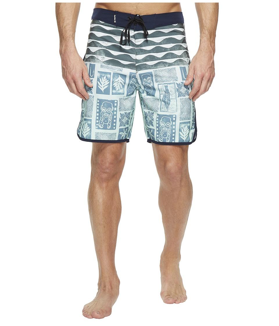 Hurley - Phantom Tahiti 18 Boardshorts (Mint Foam) Men's Swimwear