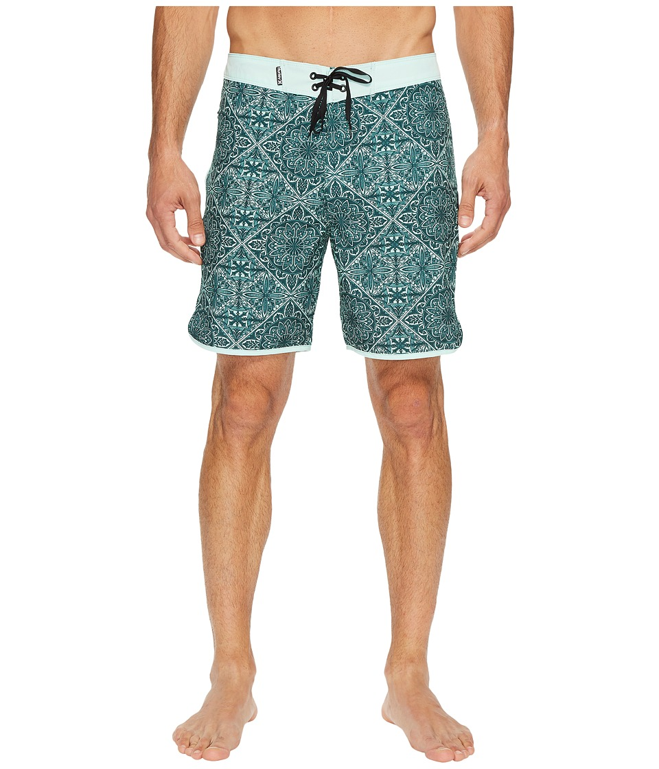 Hurley Phantom Casa 18 Boardshorts (Mint Foam) Men