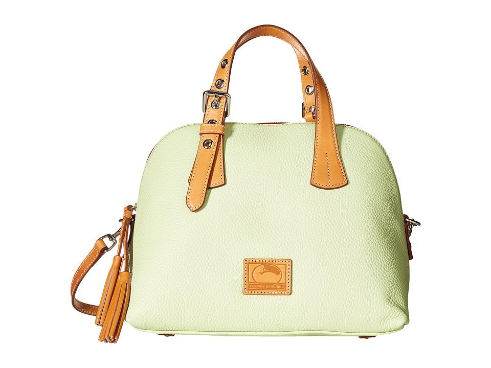 Dooney & Bourke - Patterson Small Audrey (Key Lime w/ Butterscotch Trim) Handbags