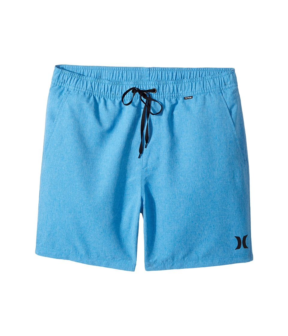 Hurley - One Only Heathered Volley 2.0 (Light Photo Blue) Men's Swimwear