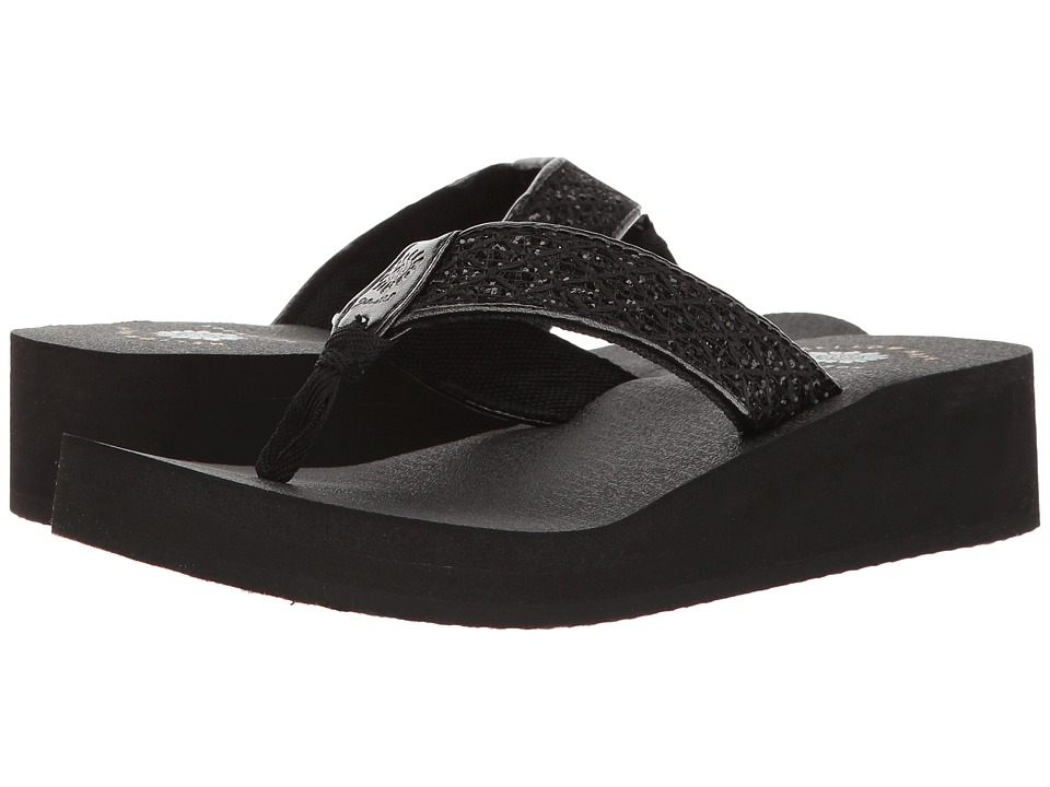 Yellow Box - Jesane (Black) Women's Sandals