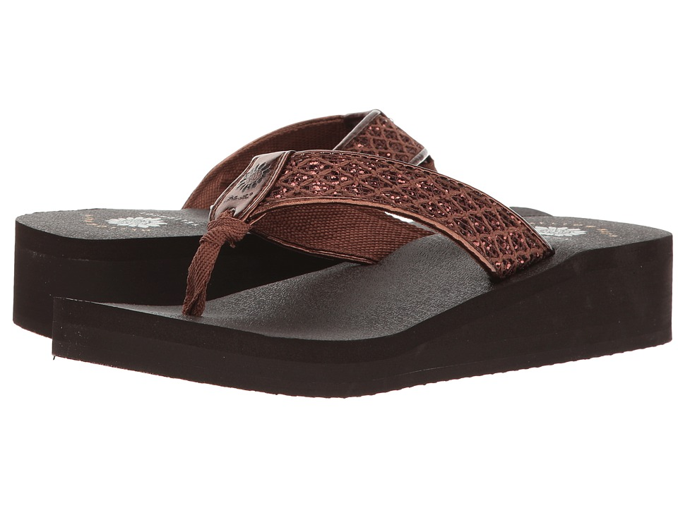 Yellow Box - Jesane (Bronze) Women's Sandals