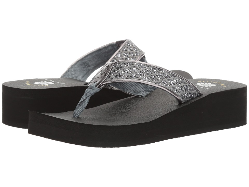 Yellow Box - Jesane (Pewter) Women's Sandals
