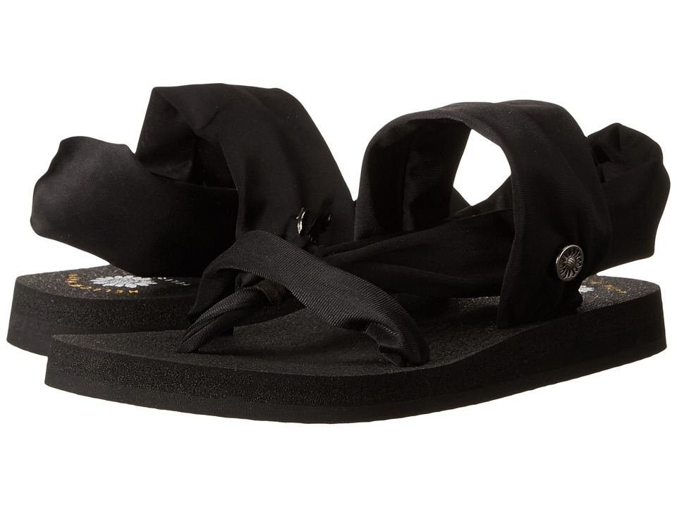 Yellow Box - Bri (Solid Black) Women's Sandals