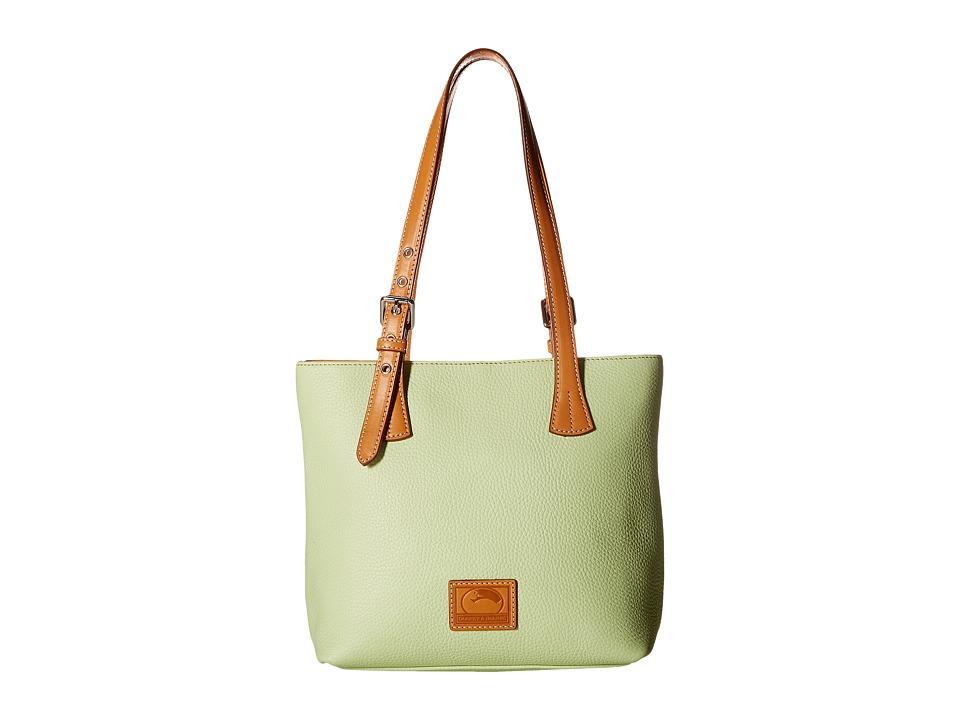 Dooney & Bourke - Patterson Emily Shoulder Bag (Key Lime w/ Butterscotch Trim) Cross Body Handbags
